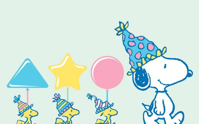 Snoopy Wallpapers HD birthday