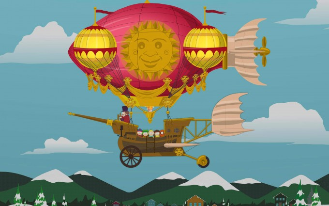 South Park Wallpapers HD fly high