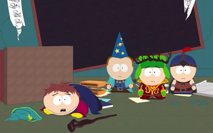 South Park Wallpapers HD black board