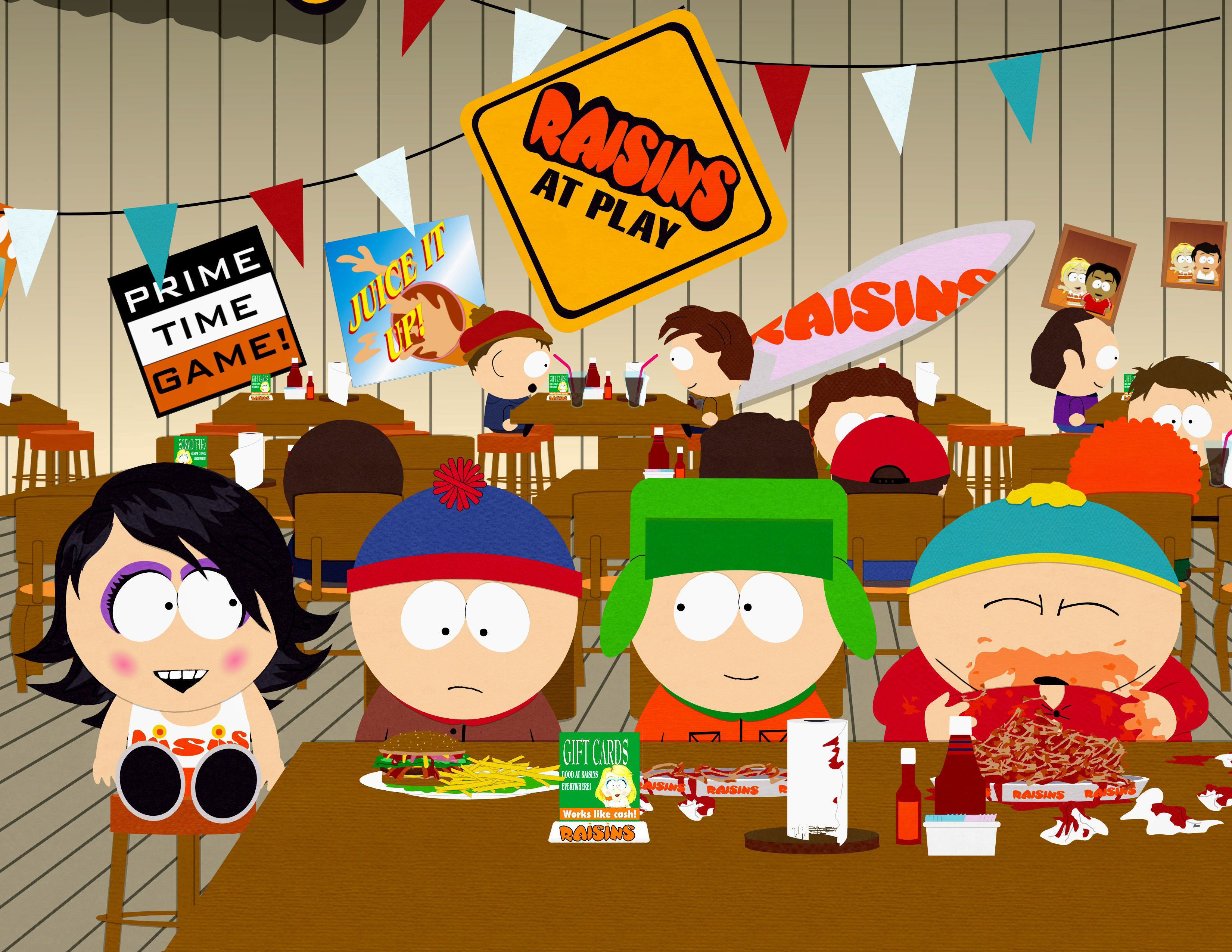 South Park Raisins