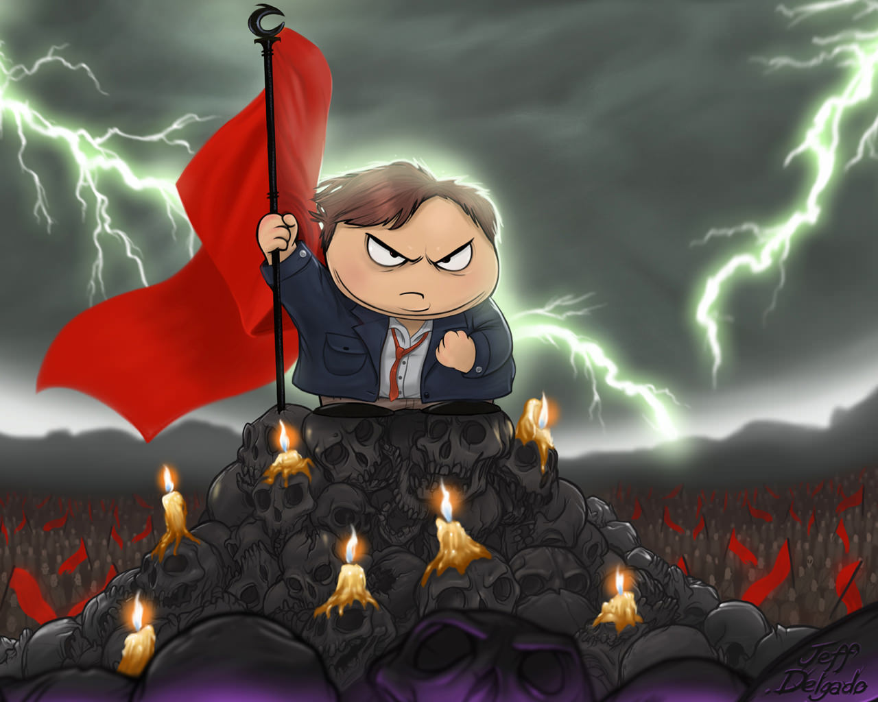 South Park Wallpapers HD candles angry