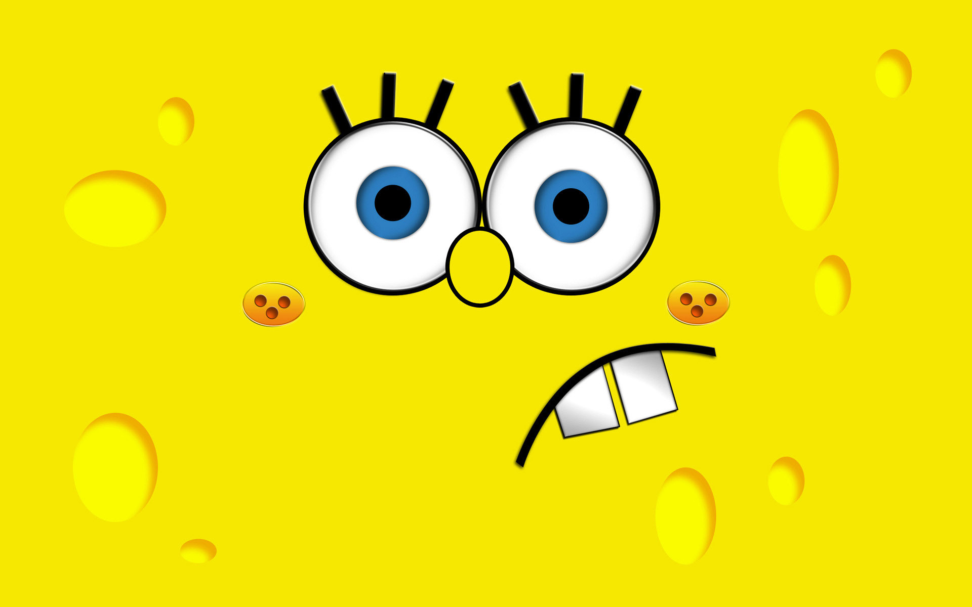 SpongeBob SquarePants wallpapers HD curious left
