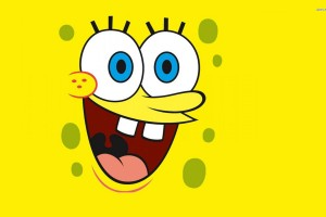 SpongeBob SquarePants wallpapers HD  yellow background smile