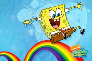 SpongeBob SquarePants wallpapers HD  rainbow