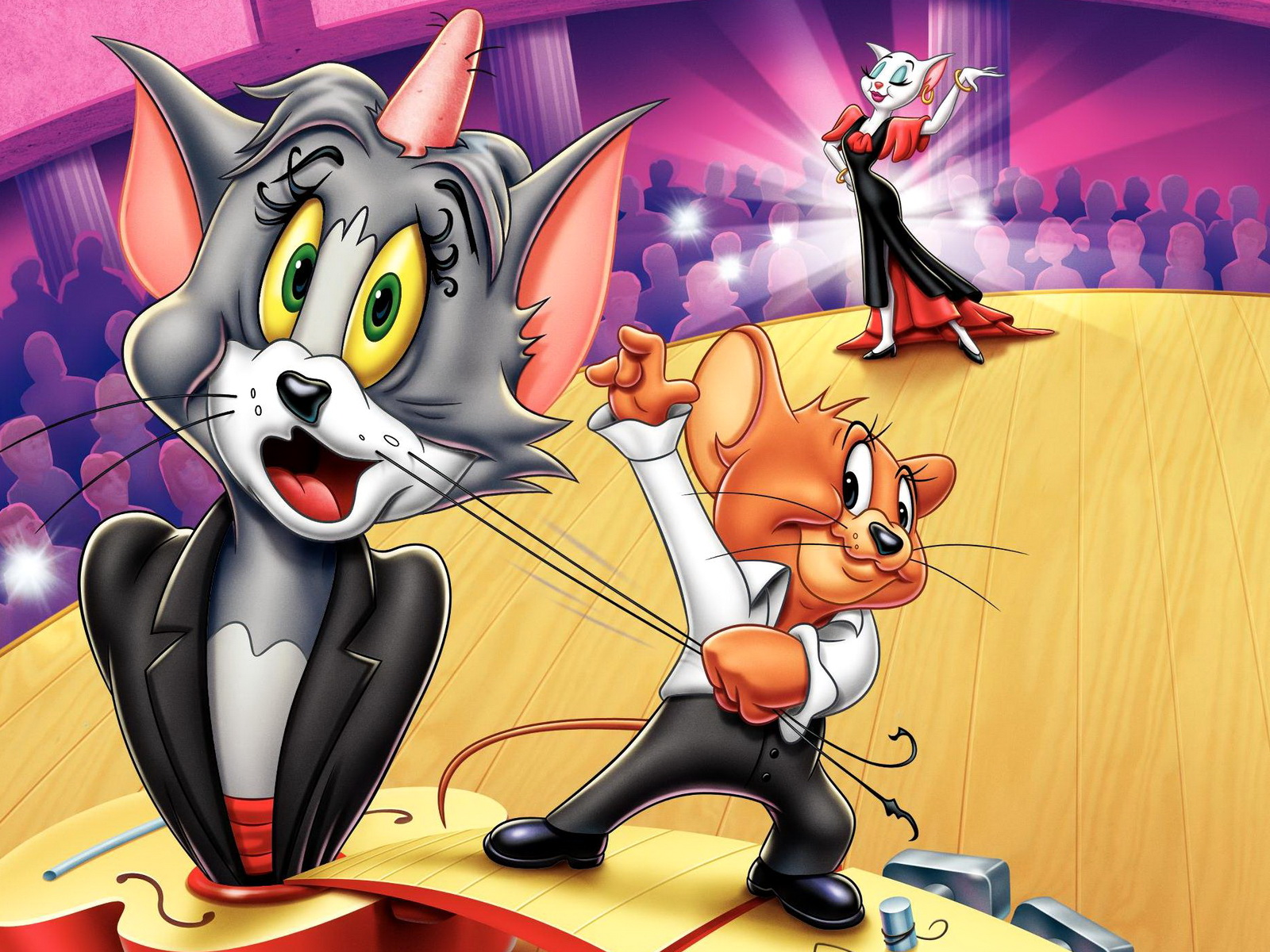 Tom and Jerry Wallpapers magicians annoying
