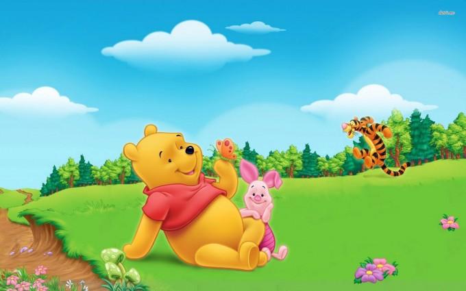Winnie The Pooh Wallpapers HD garden