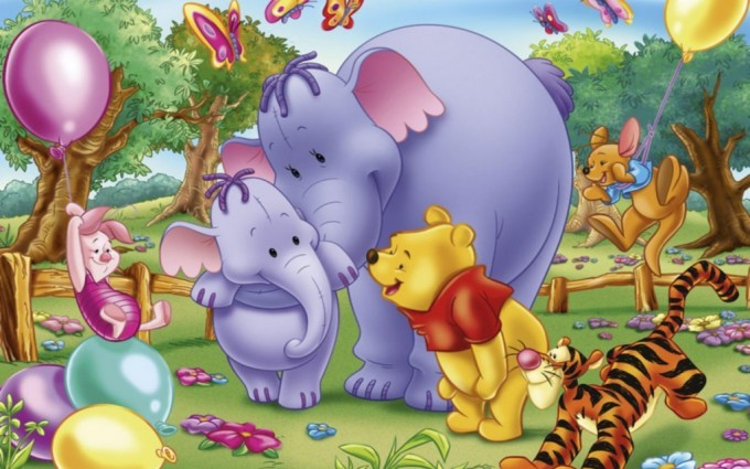 Winnie The Pooh Wallpapers HD fun party