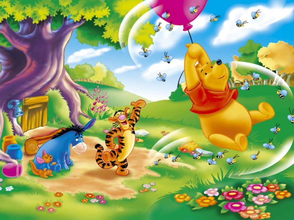 Winnie The Pooh Wallpapers HD balloon