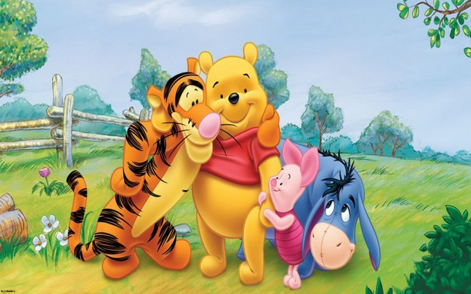 Winnie The Pooh Wallpapers HD caring
