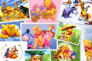 Winnie The Pooh Wallpapers HD collage