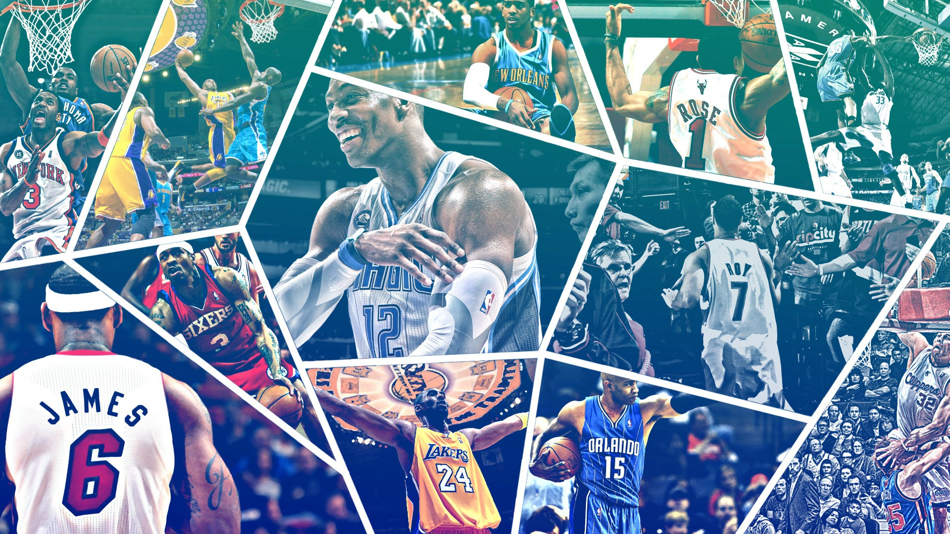 basketball wallpapers  collage