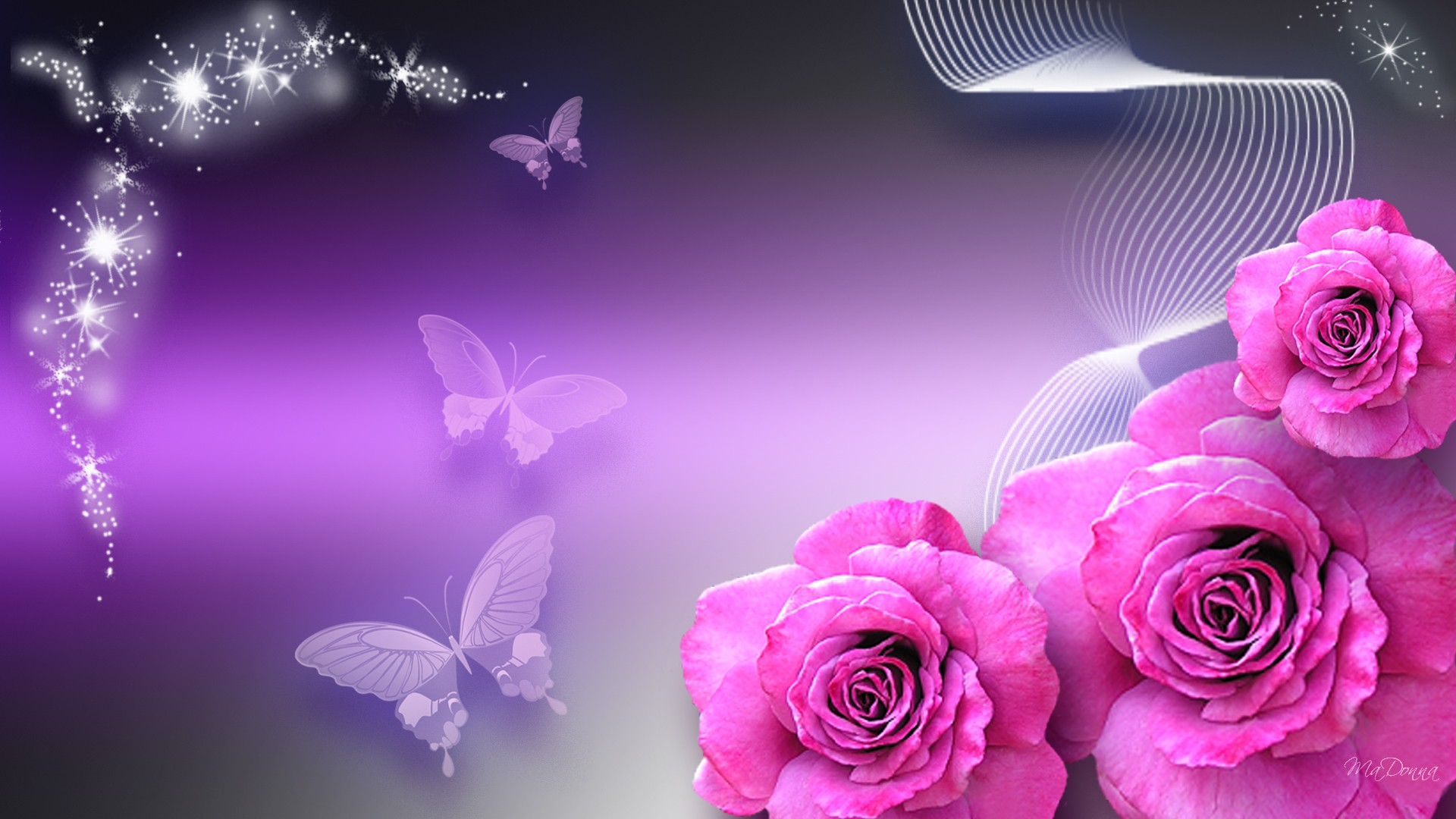 Purple flower wallpaper hd desktop