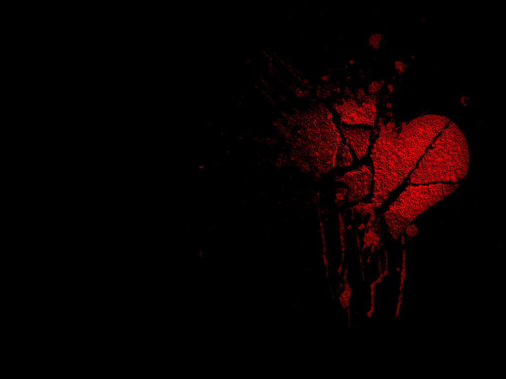 heart wallpapers broken