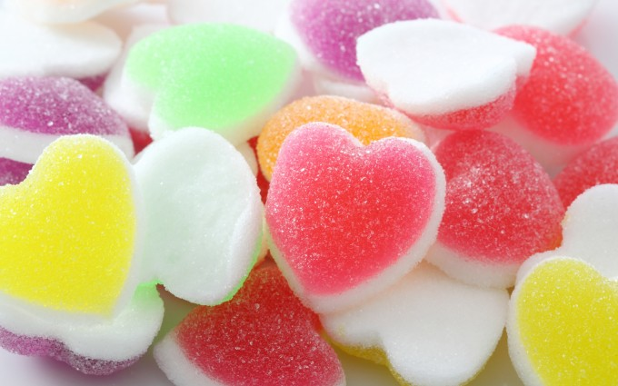 heart wallpapers candy cute