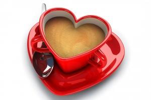 heart wallpapers coffee
