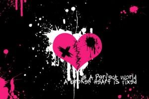 heart wallpapers emo