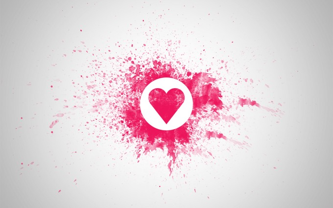 heart wallpapers funky