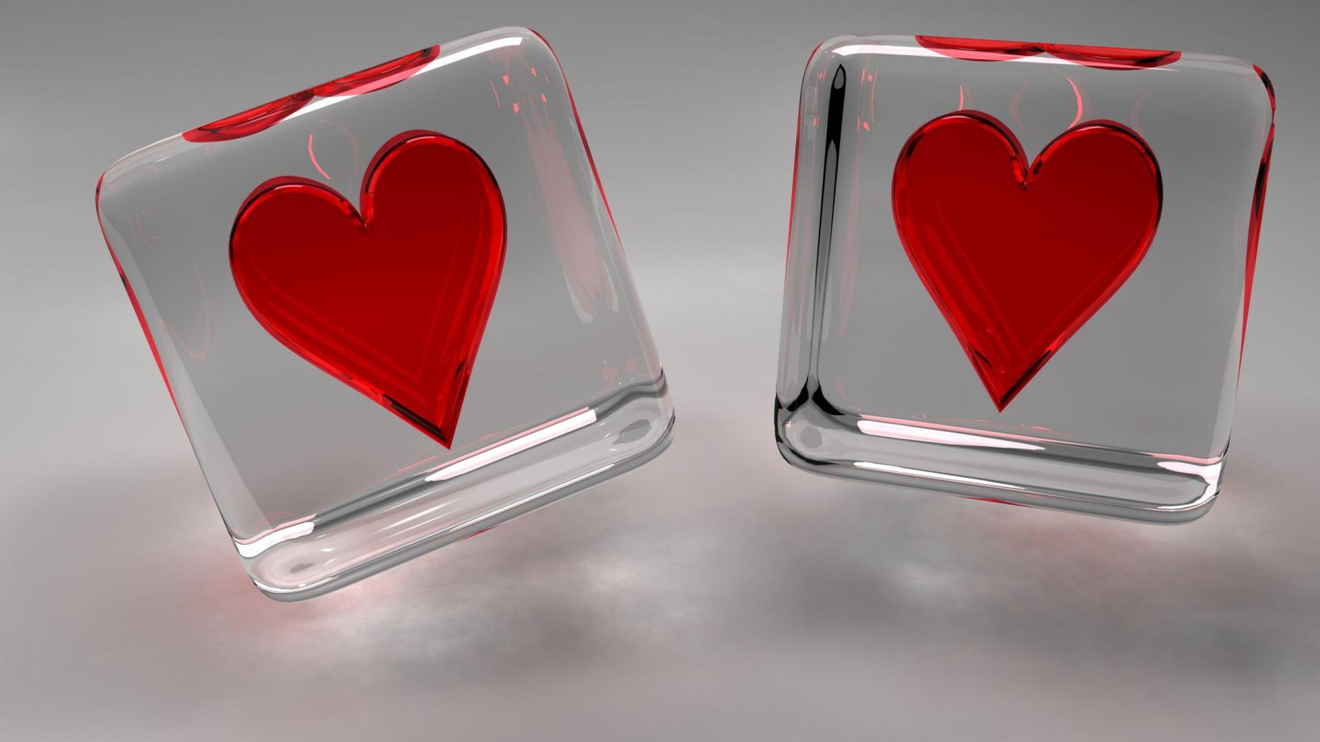 heart wallpapers glass