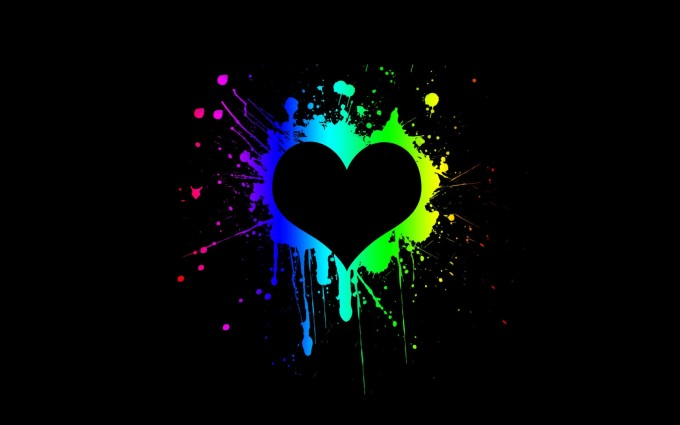 heart wallpapers graffiti