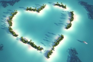 heart wallpapers island