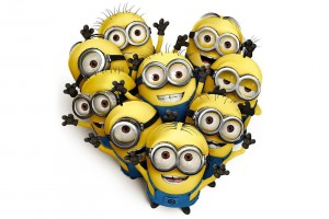 heart wallpapers minions