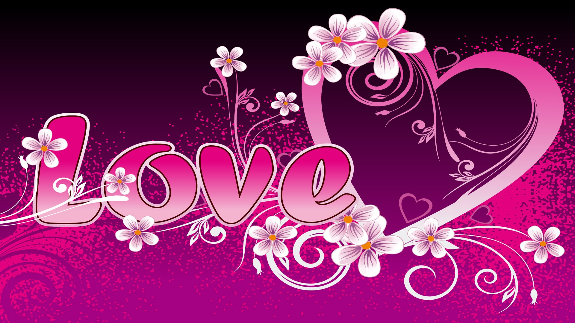 heart wallpapers pink