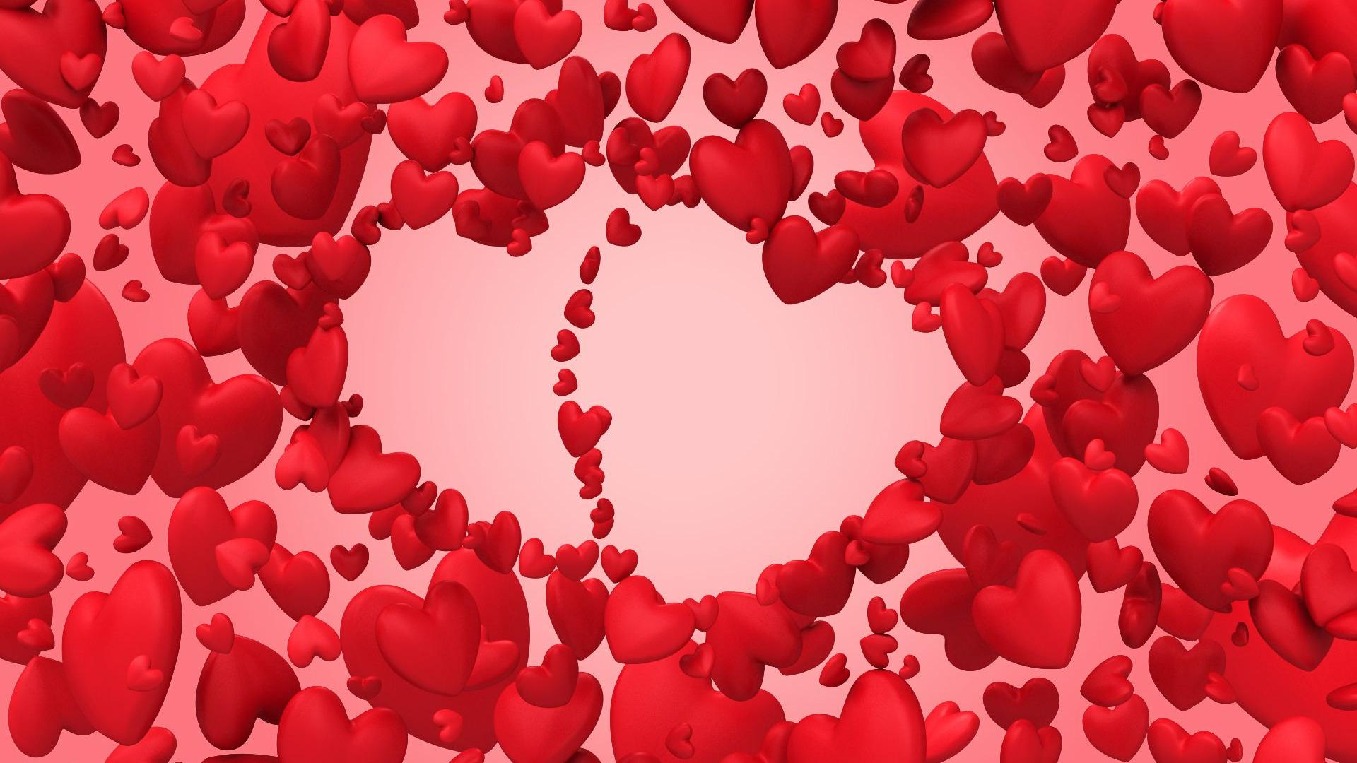 heart wallpapers pure