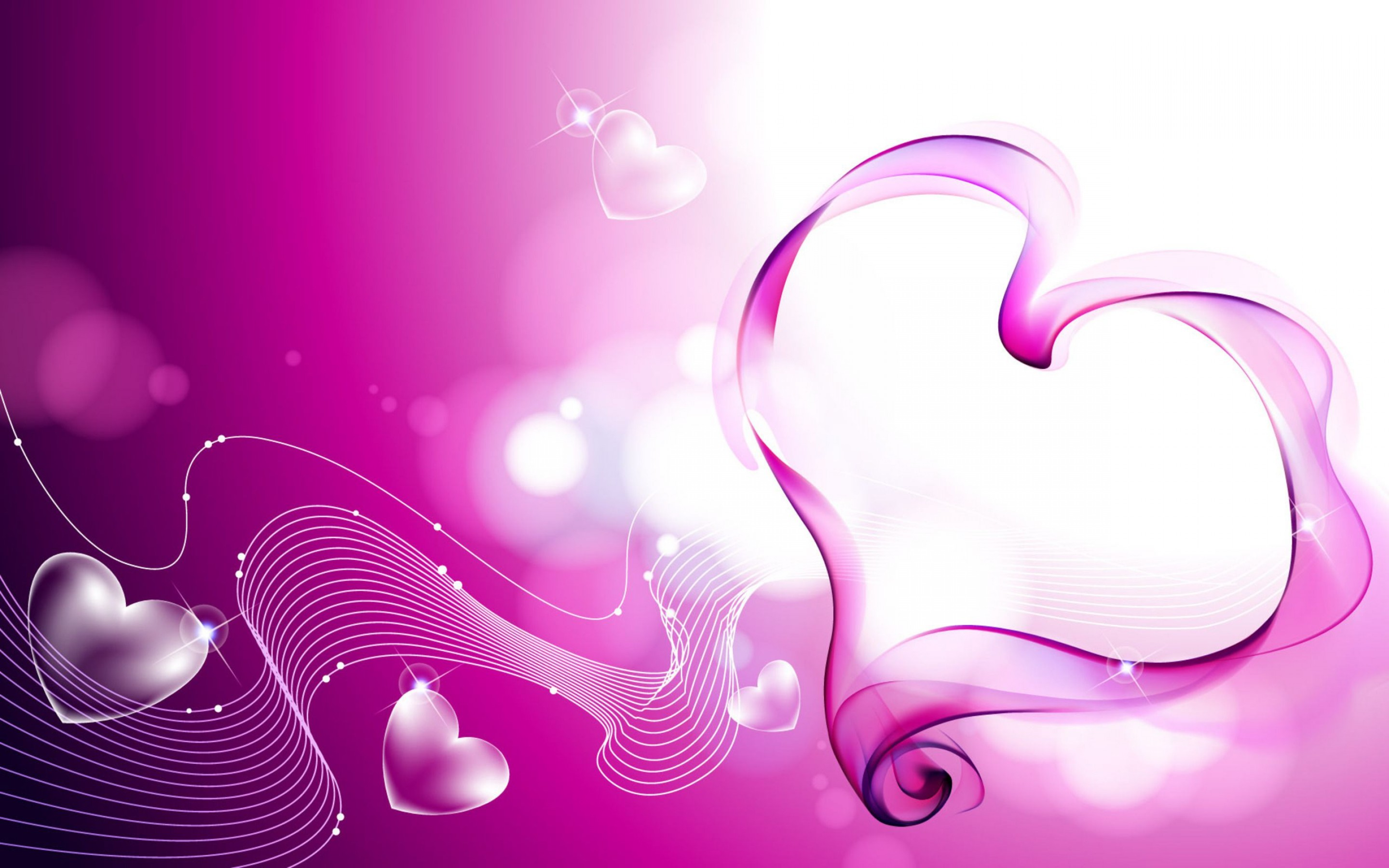 heart wallpapers purple background