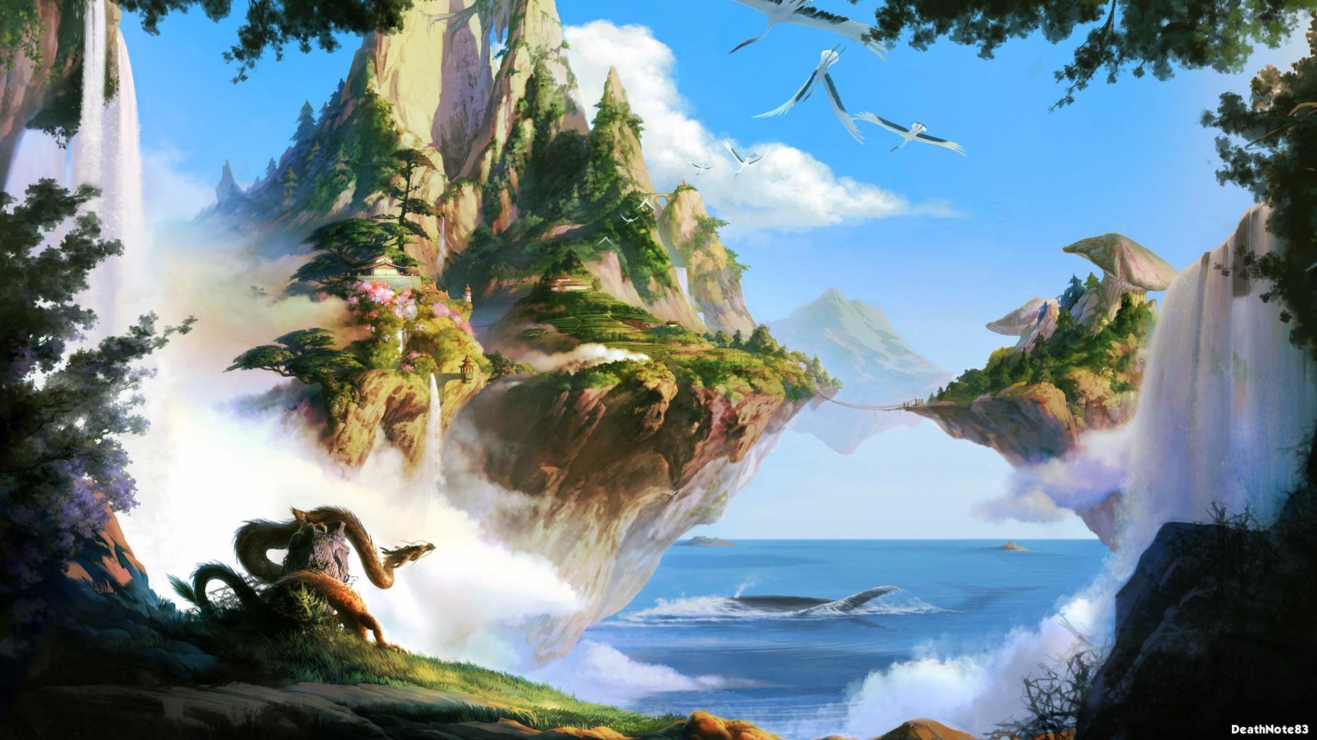 landscape wallpaper animated