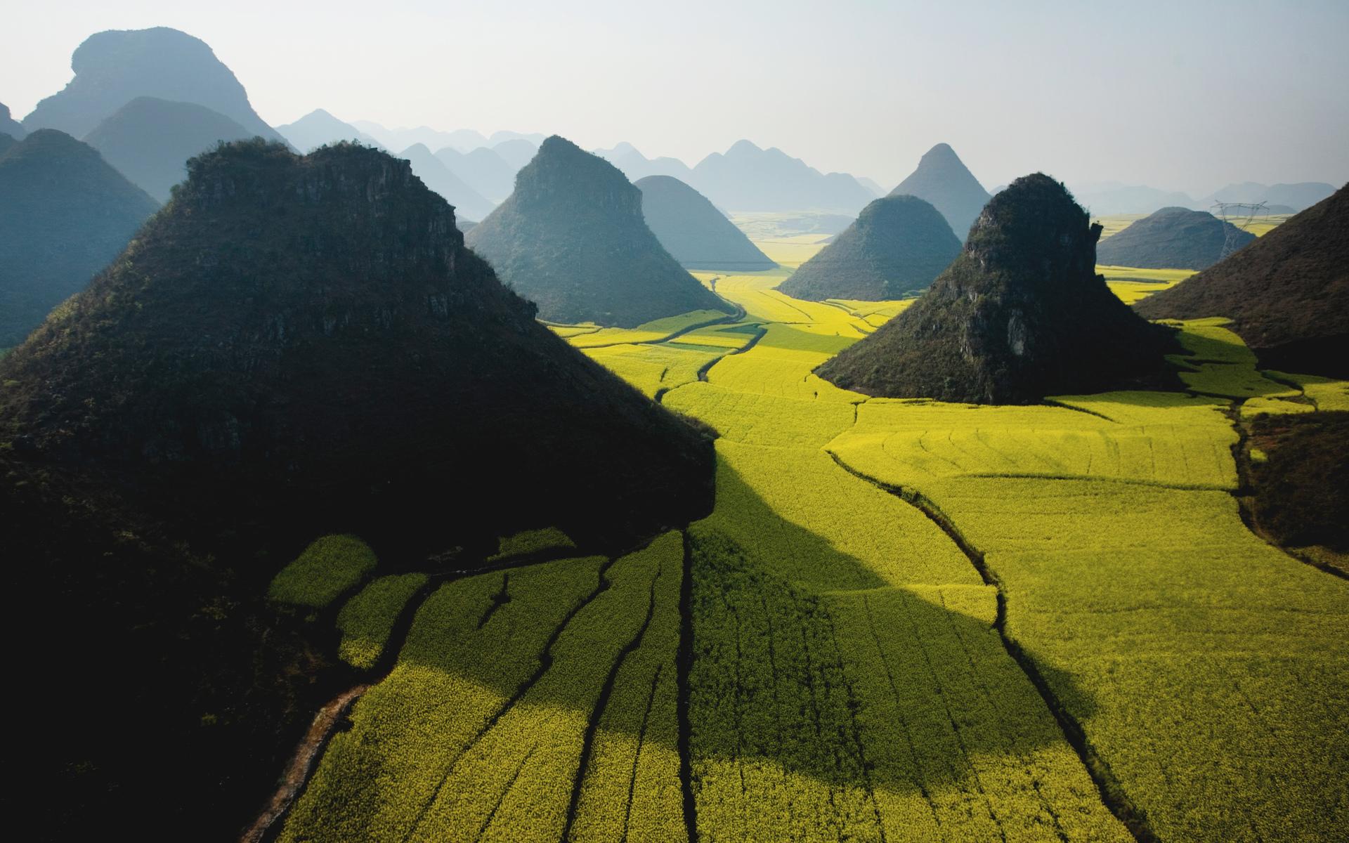 landscape wallpaper farms