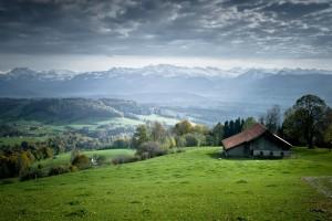 landscape wallpaper house