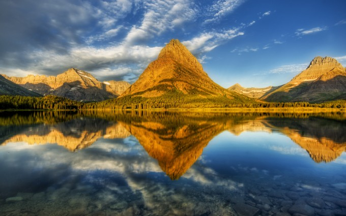 landscape wallpaper reflection
