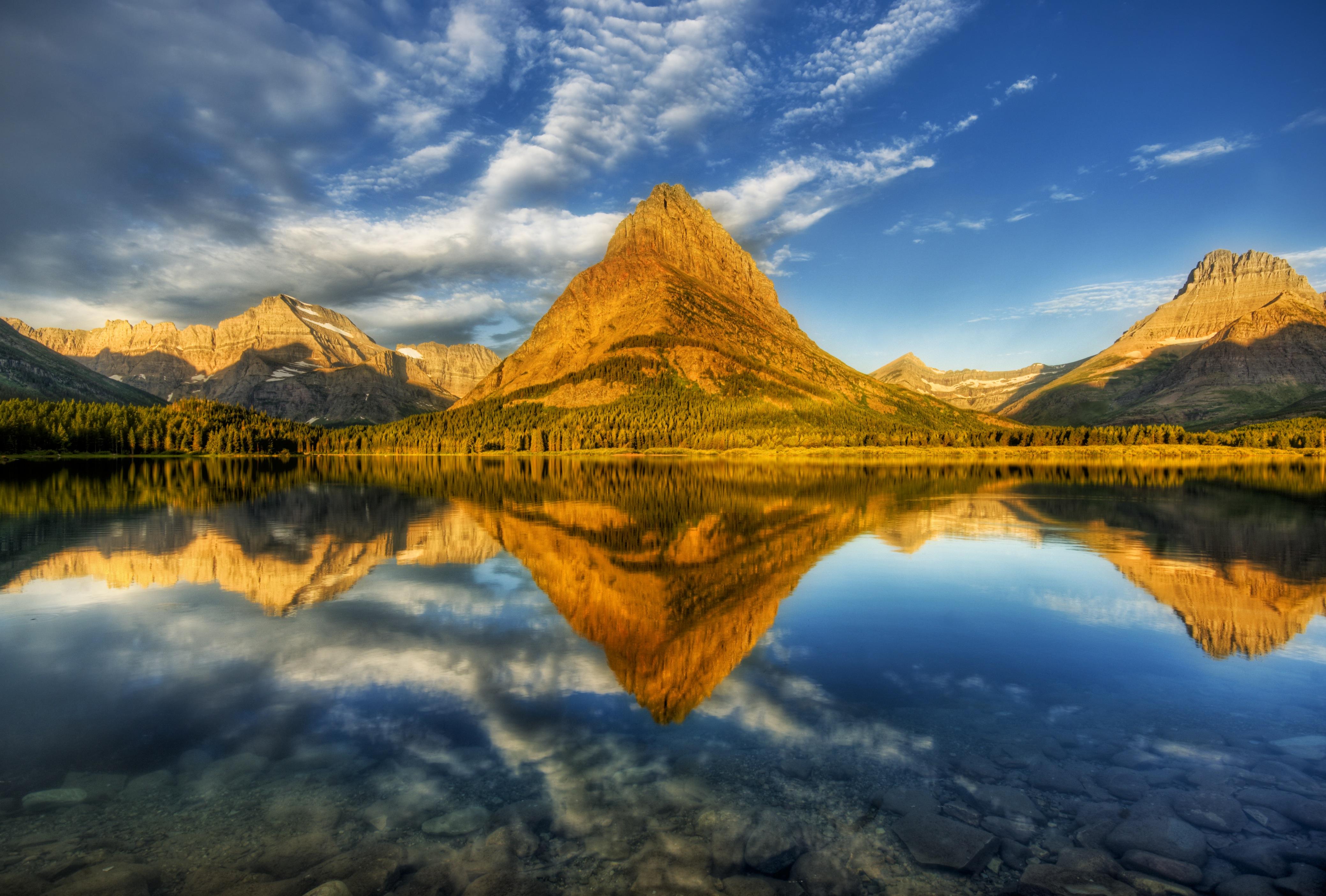 landscape wallpaper reflection