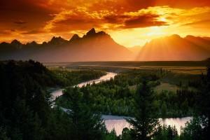 landscape wallpaper sunrise