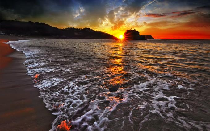 landscape wallpaper sunset