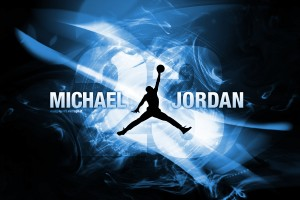 michael jordan wallpaper blue