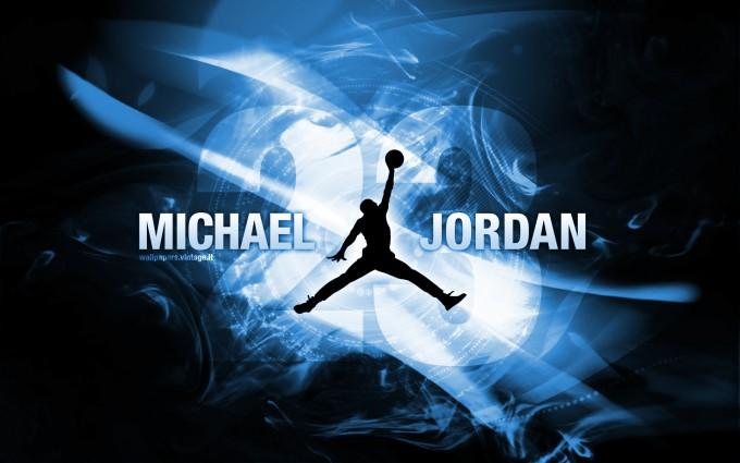 michael jordan wallpaper blue