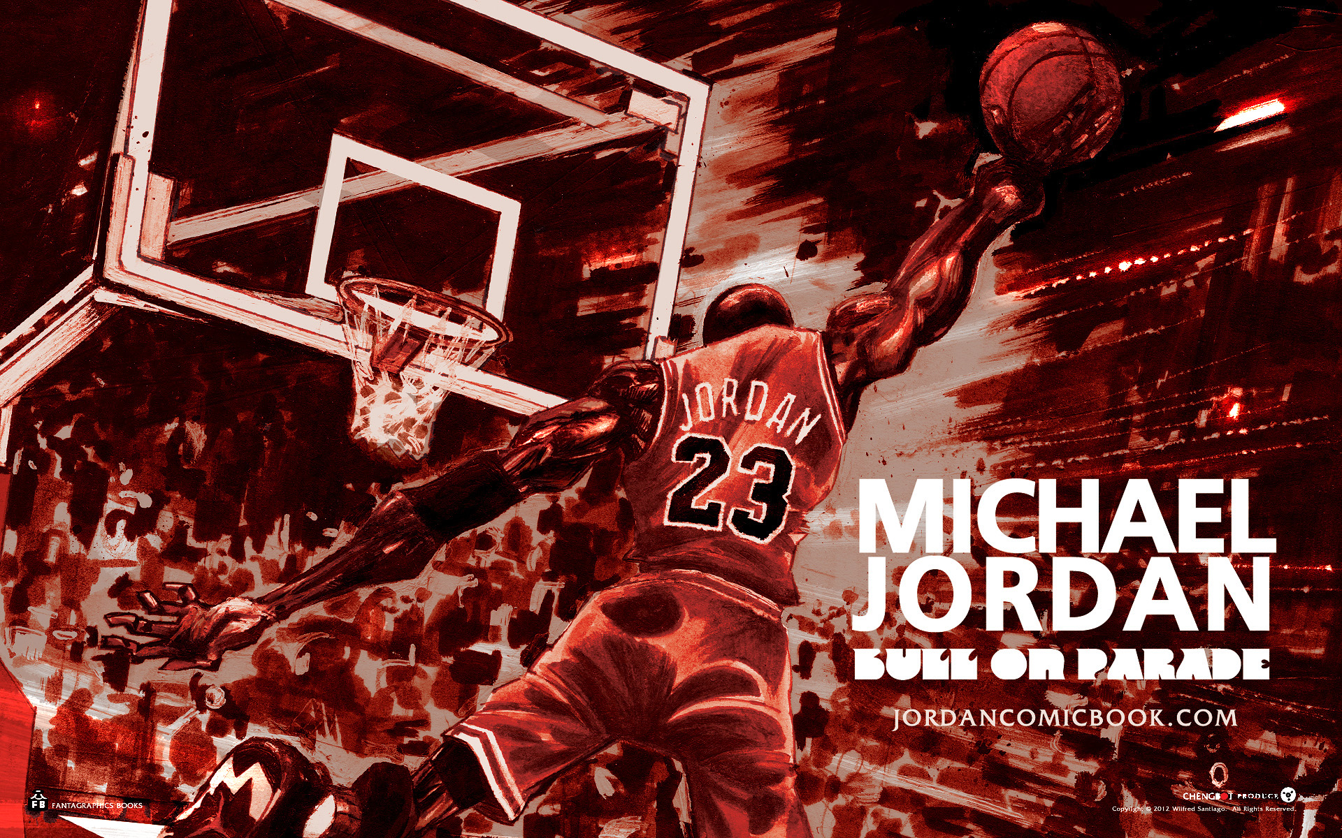 Michael Jordan The Shot Wallpaper
