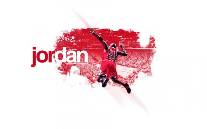 michael jordan wallpaper red and white