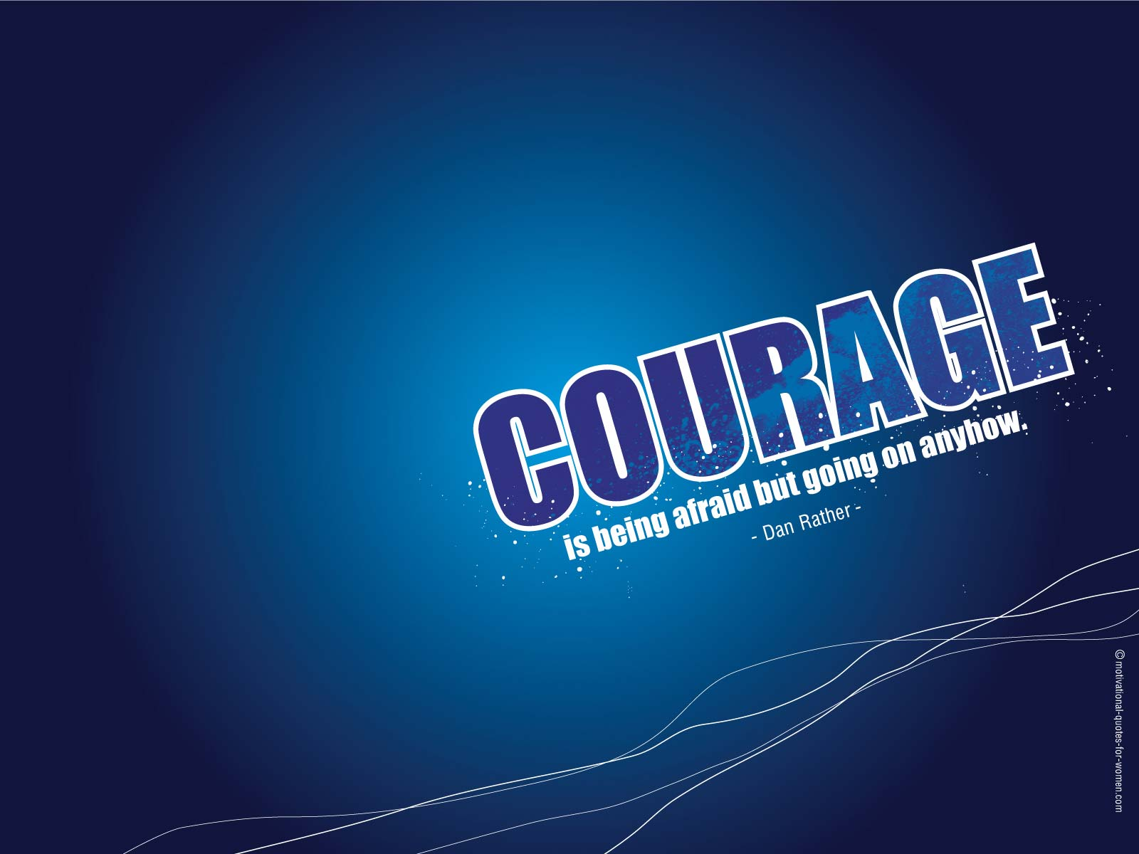 motivational wallpaper courage