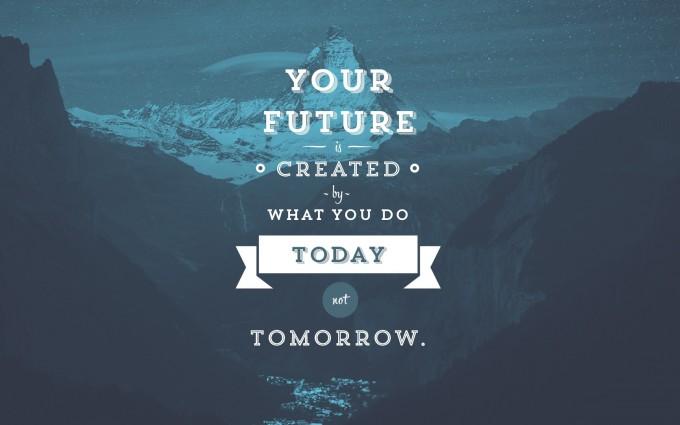 motivational wallpaper do it today