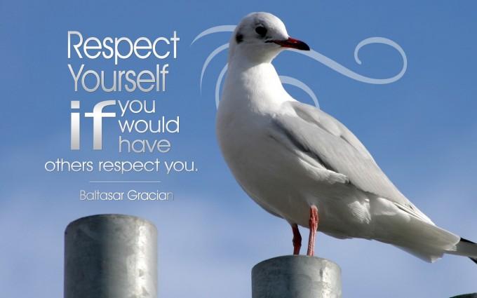 motivational wallpaper respect