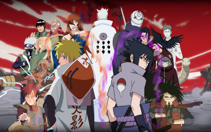 A17 Naruto anime Shippuden War HD Desktop background wallpapers downloads