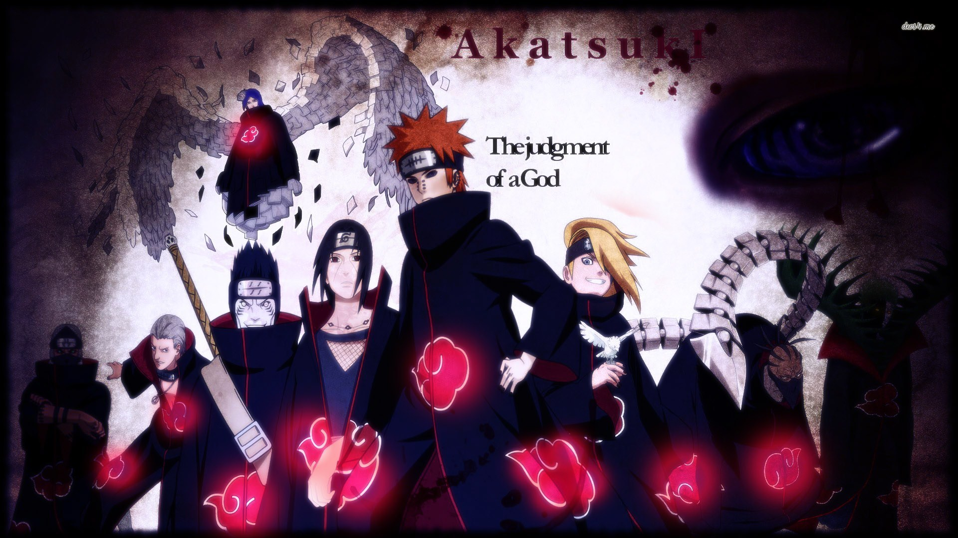 Naruto Akatsuki Wallpapers A3