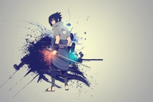 A43 Naruto anime Sasuke Uchiha HD Desktop background wallpapers downloads