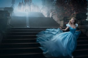 scarlett johansson wallpapers HD princess blue dress