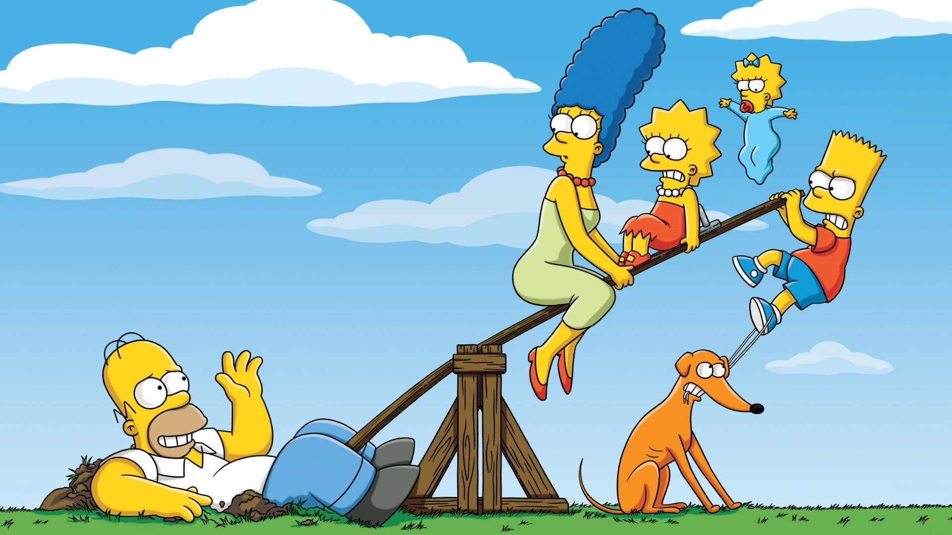 simpsons wallpaper fun