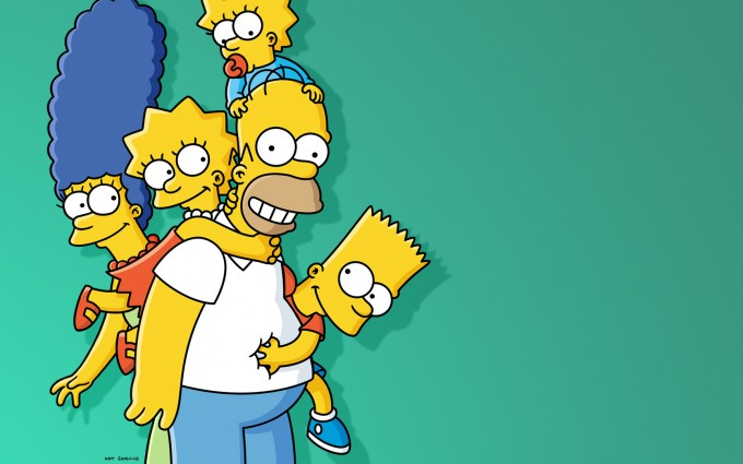 simpsons wallpaper homer