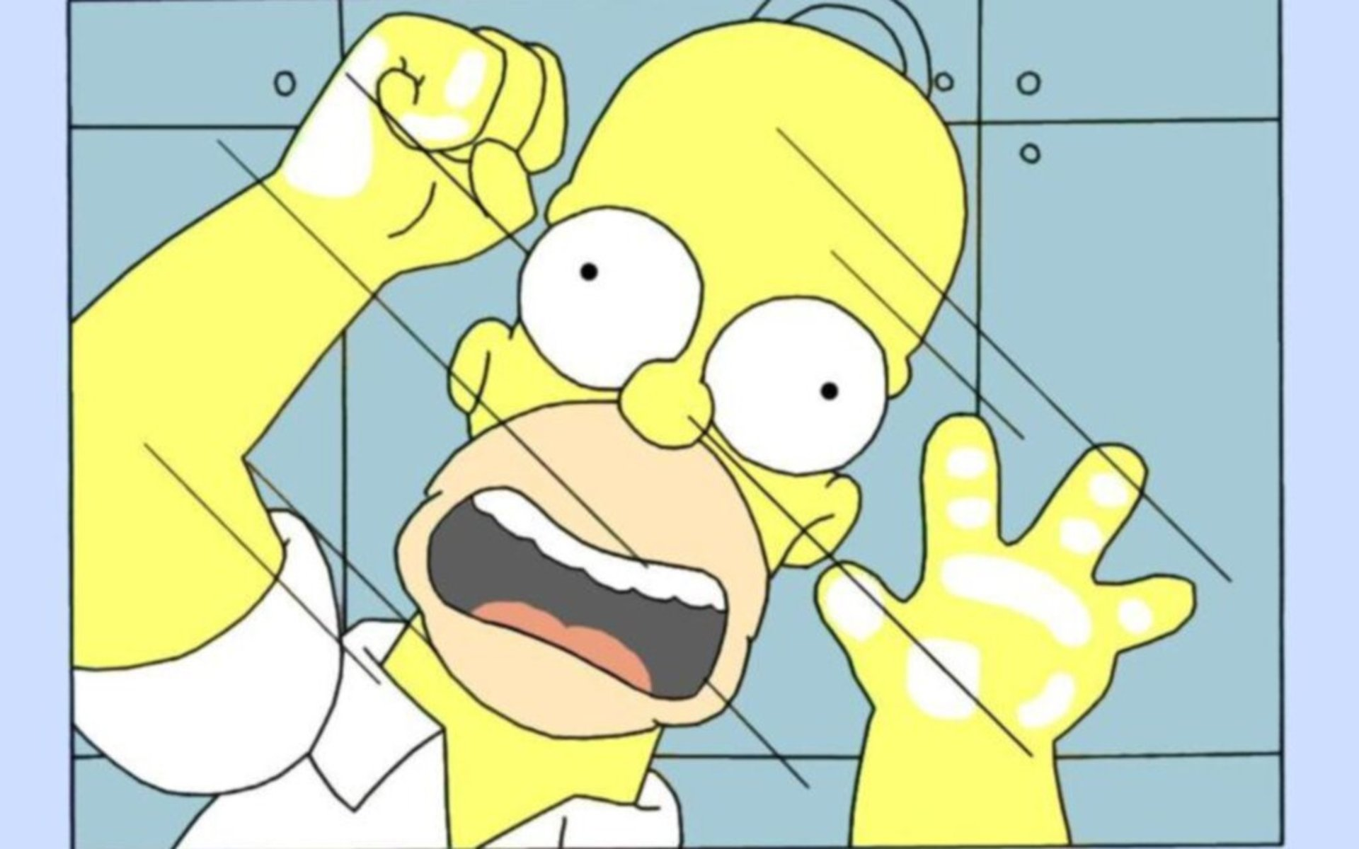 simpsons wallpaper homer funny