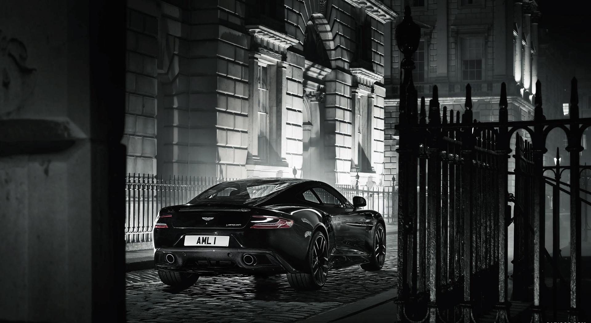 Aston Martin Vanquish Wallpapers black